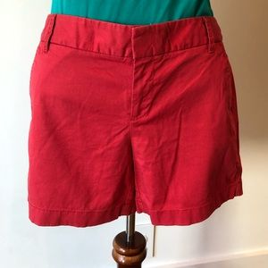 Cute red shorts